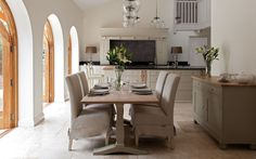 open kitchen + dining design by neptune