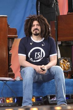 Adam Duritz Photos: Adam Duritz Performs with the Counting Crows