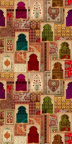 Ideas design pattern architecture graphics for 2019 Mughal Paintings, Indian Paintings, Textile Pattern Design, Pattern Art, Wallpapers Texture, Islamic Art Pattern, Art Antique, Indian Folk Art, Arabic Art