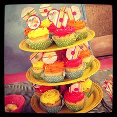 Lalaloopsy party cupcakes