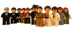 Here's the Downton Abbey cast recreated in Lego form