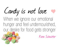 Be sweet to yourself!
