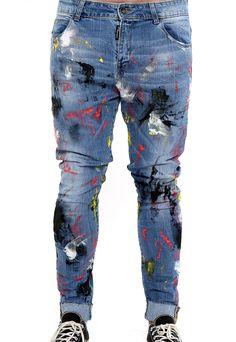 handmade all over jeans