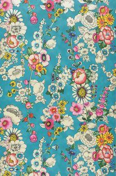 Megara | Papier peint floral | Motifs du papier peint | Papier peint des années 70