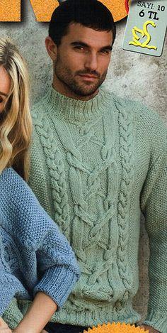 свитера мужские вязаные спицами фото