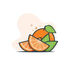 Orange designed by Varun Kumar. Connect with them on Dribbble; Typo Logo Design, Design Ios, Icon Design, Flat Design Illustration, Cute Illustration, Digital Illustration, Cute Wallpaper Backgrounds, Science Art, Pics Art