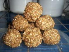 no-bake oatmeal balls