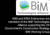 NBS and RIBA Enterprises are members of the BIM Technologies Alliance supporting the UK Government's Construction Strategy BIM Working Group