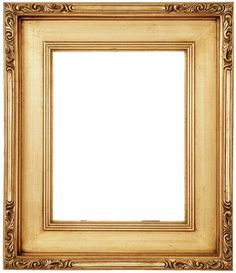 Straight edge frames for British office /Curvy, ornate frames for French