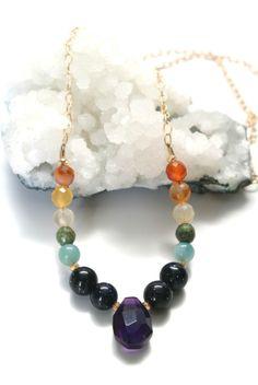 Chakra Balancing Necklace.  I need this!