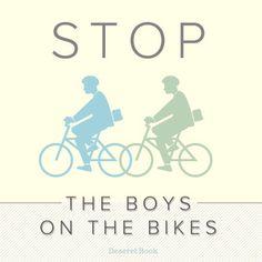 """Stop the boys on the bikes!"" - Elder Russel M. Nelson #lds #ldsconf #ldsmissionaries #missionaries"