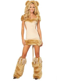 Sexy Courageous Lion Costume | Sexy Wizard of Oz Costumes