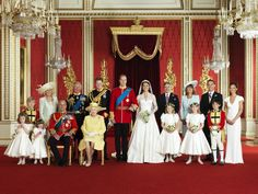 British Royal Family - Prince William & Kate Middleton's wedding...The Duke & Duchess of Cambridge