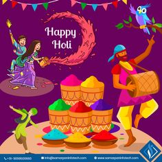 Have a look at our beautiful memories of the festival, birthday, anniversary and events celebration with full of fun, happiness & enjoyment. Festivals Of India, Indian Festivals, Holi Special, Special Day, Holi Poster, Holi Pictures, Holi Greetings, Happy Holi Images, Happy Holi Wishes
