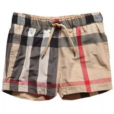 boys burberry swim trunks