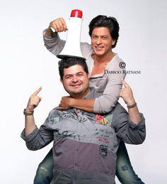 Shahrukh and Daboo    Photo credit: Daboo Ratnani