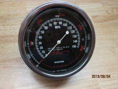 OLD-VINTAGE-SW-150-MPH-MASTER-TACHOMETER-SPEEDOMETER-CAIBRATION-HEAD-CV