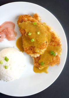 Japanese Chicken Katsu Curry Chicken Katsu Curry Recipes, Chicken Recipes, Japanese Chicken, Japanese Food, Japanese Curry, High Protein Recipes, Healthy Recipes, Healthy Meals, Healthy Eating