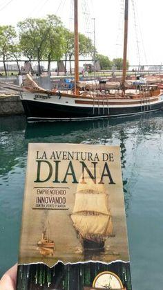 En el puerto  de Barcelona el día que Diana surco las ondas televisivas para el programa Para todos la 2 de RTVE