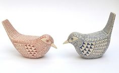 Lorraine Izon - Two Garden Birds