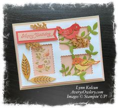 Posted for You meets Birds & Branches - Stamping with Avery's Owlery