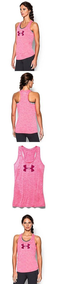 Other Football Clothing and Accs 74676: Under Armour Womens Tech Twist Tank Top, Harmony Red, Medium -> BUY IT NOW ONLY: $31.66 on eBay!