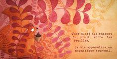 Illustration Ecureuil - Isabelle Monnerot-Dumaine - www.lespetitsbrins.com