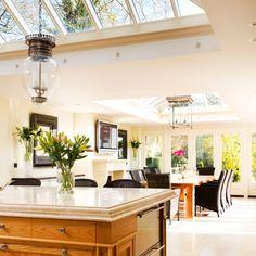 Open-plan kitchen-diner | Kitchen extensions - 25 of the best | Kitchen planning | Beautiful Kitchens | PHOTO GALLERY
