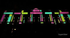 #VideoMapping #LightShow    Projection for Light Institute building @ Rio De Janeiro (by SuperUber)