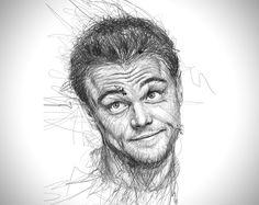 Faces Scribble Portraits by Vince Low 6 Les gribouillis incroyables de Vince Low