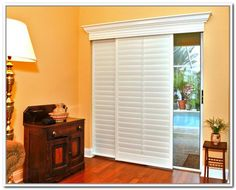 Wood Blinds For Sliding Glass Doors