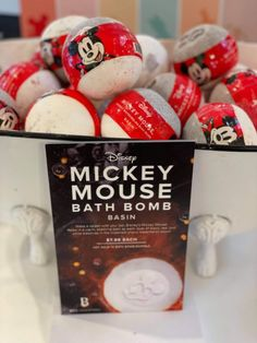 The Disney Basin Collection is the Perfect Way to Pamper Yourself! Mickey Head, Disney Mickey Mouse, Disney Inspired Makeup, Mickey Cartoons, Spa Day At Home, Disney Springs, Vintage Mickey, Disney Style, Walt Disney World