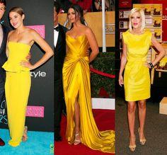 Que cor de sapato usar com vestido amarelo?  