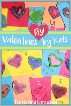 This is the most fun DIY Valentines by kids that we have made so far. They are fantastic, creative and super easy to make.