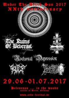 Long Live The Loud 666: UNDER THE BLACK SUN 2017 XX ANNIVERSARY WITH:NOCTU...