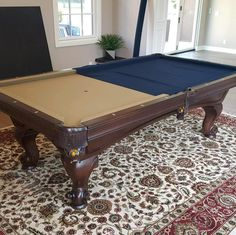 Finished Installing This 8 Foot AMF Pool Table In An Upstairs Game Room In  Anaheim Hills California. | Pool Tables | Pinterest | Pool Table, Game  Rooms And ...