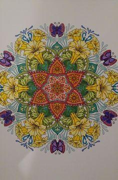 ColorIt Mandalas Volume 2 Colorist: Shayna Reynolds #adultcoloring #coloringforadults #mandalas #mandalastocolor