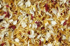 All natural wedding confetti petals - whatever your colour there's a petal out there!