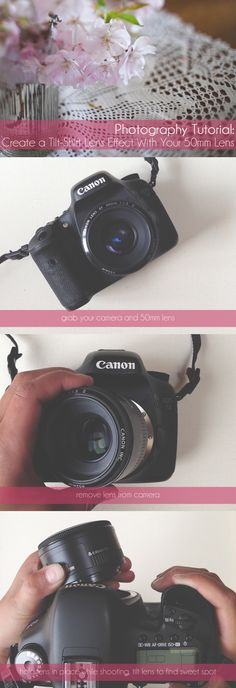 Photography Tutorial: How to Create a Tilt-Shift Lens Effect With Your 50mm Lens.