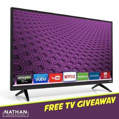 "* GIVEAWAY * GIVEAWAY * GIVEAWAY * How would YOU like to WIN a FREE 32"" FLAT SCREEN TV for your home? That's right! We're giving away a FREE 32"" FLAT SCREEN TV! All you've got to do is: 1.) Like our page. 2.) Comment below. 3.) Share this post. The winner will be picked Mardi Gras day, February 28th. Play as often as you'd like! Good luck!"