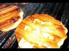 Como hacer Provoletas a la Parrilla! Receta de Locos X el Asado - YouTube Receta Bbq, Colombian Cuisine, Barbacoa, French Toast, Grilling, Food And Drink, Vegetarian, Favorite Recipes, Portuguese
