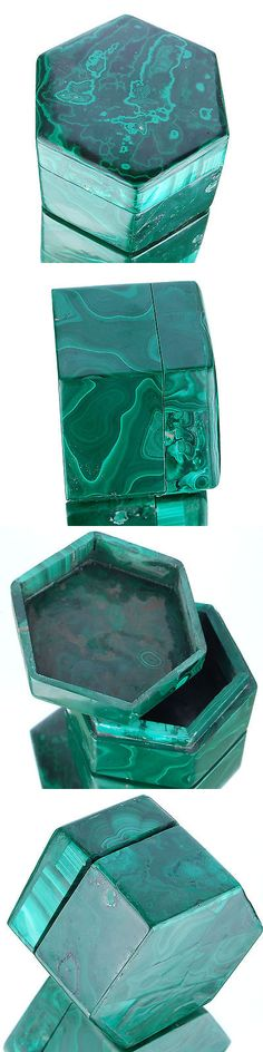 Malachite 10236: 1342 Cts Huge Unique Natural Malachite Box Finest Quality Collectors Gemstone BUY IT NOW ONLY: $187.49