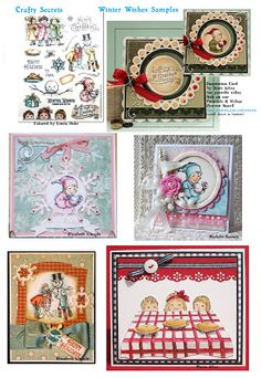Inspiration sample page included in the Winter Wishes Digital Download. Our Design Team are just receiving these new digital sets so watch for cool new samples on the Blog and Pintrest.