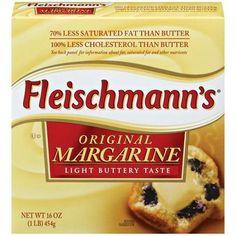Fleischmann's Original Stick Margarine: 1.5 grams per serving (1 tbsp)