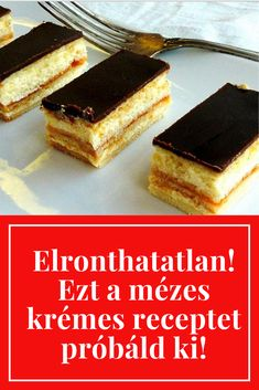Hungarian Desserts, Hungarian Cake, Hungarian Recipes, Cake Cookies, Tiramisu, Cheesecake, Paleo, Food And Drink, Sweets
