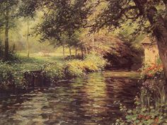Louis Aston Knight (1873-1948) - A Sunny Morning at BeaumontLe Roger