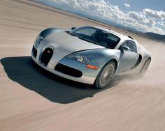 Bugatti Veyron, the world's fastest production car.