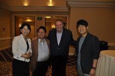 Jeunesse global Founders Randy Ray & korea GM Kelcey...미국 시애틀에서 만난 랜디레이 주네스창업자와 인증샷 우측은 켈시권 한국지사장..201400718