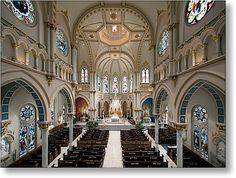 Inside Saint Joseph's Catholic Church, Macon, Ga.