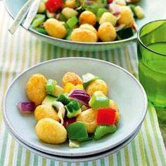 Roerbakschotel van aardappels en groenten (airfryer)